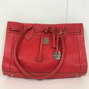 Dooney & Bourke Red Leather Purse